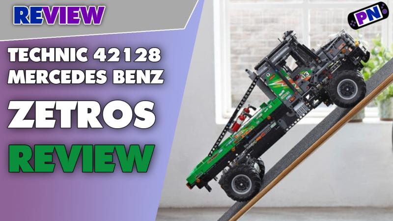 Differentialsperre unter der Lupe! LEGO® TECHNIC Mercedes Benz Zetros Trial Truck 42129 im Review
