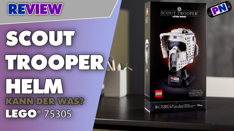 Sammlung vervollständigt! Kann der was?! LEGO® Star Wars Scout Trooper Helm Review (75305)
