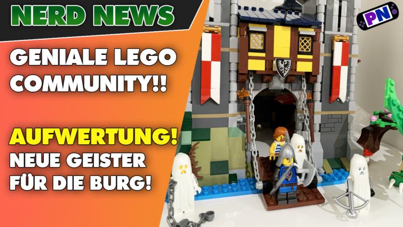 GENIALE LEGO Community! Die Ritterburg noch besser! Mit leuchtenden Geistern! LEGO® Creator 31120
