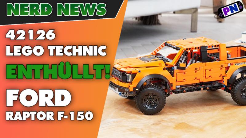 ENTHÜLLT: Der LEGO® TECHNIC Ford Raptor F-150: Federung und Teuer!