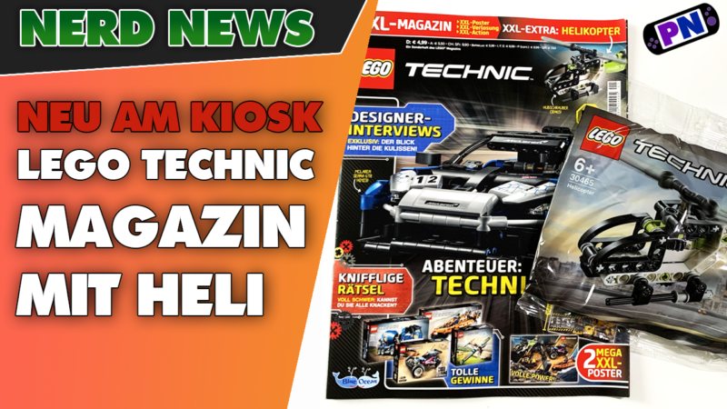 NEU: Erstausgabe des LEGO® TECHNIC Magazins vom Blue Ocean Verlag