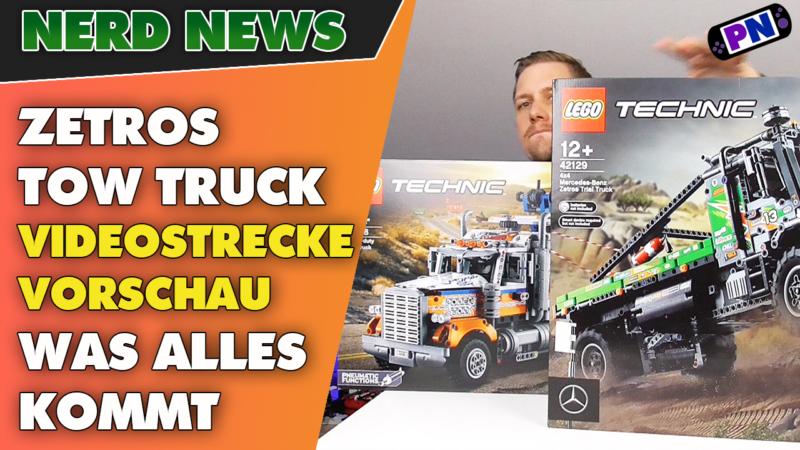 LEGO® TECHNIC: NEUE WELLE! Das erwartet euch mit Zetros + Abschlepp-Truck! 42128 + 42129
