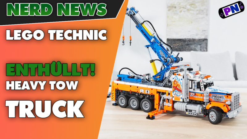 ENTHÜLLT: Alle Infos zum Tow Truck / Abschleppwagen von LEGO® TECHNIC! NEUHEIT 42128