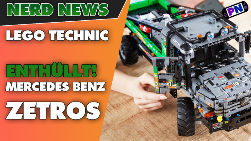 ENTHÜLLT: Alle Infos zum Mercedes Benz Zetros von LEGO® TECHNIC! NEUHEIT 42129