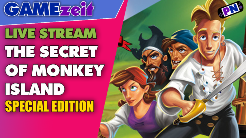 Retro-Gaming: The Secret of Monkey Island – Special Edition – mit Bluescreens – Sorry – TEIL 1
