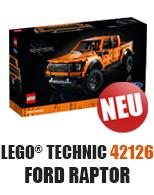LEGO 42126 Ford Raptor bei JB Spielwaren